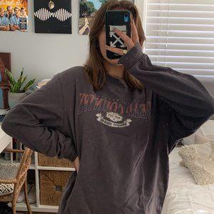 Grey Oversized Vintage Sweater